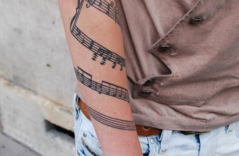 75+ Incredible Music Tattoo Designs & Meanings – Notes & Instruments (2018)