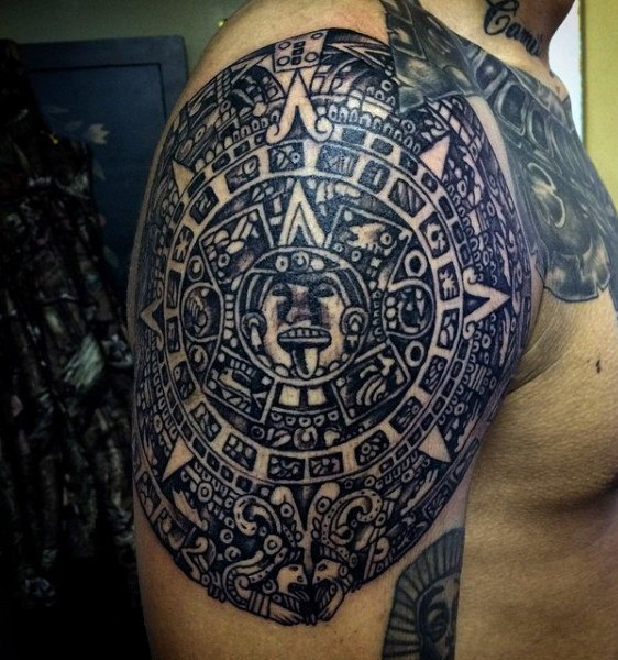 Multi-Layer Aztec Sun