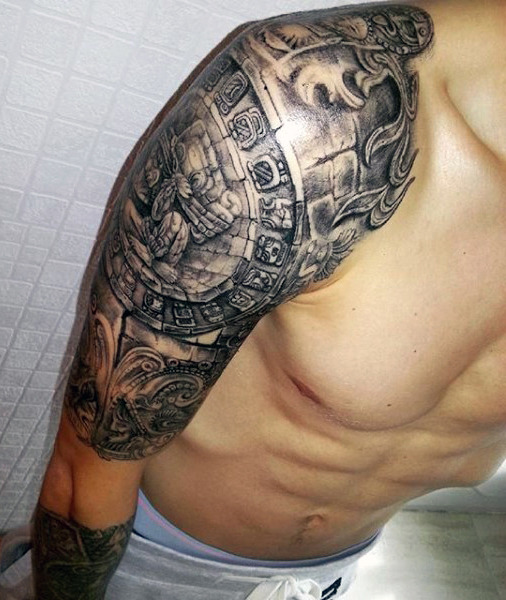 Shoulder Aztec Piece for Men