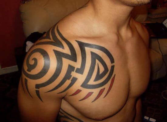 tribal-chest-tattoos-tribal-band-tattoo