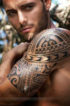 male maori tattoos