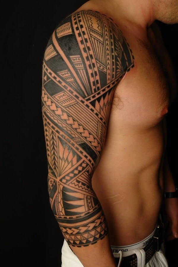 sleeve tribal tattoo idea