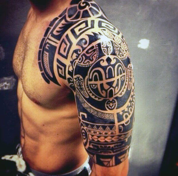 small tribal tattoos for men
