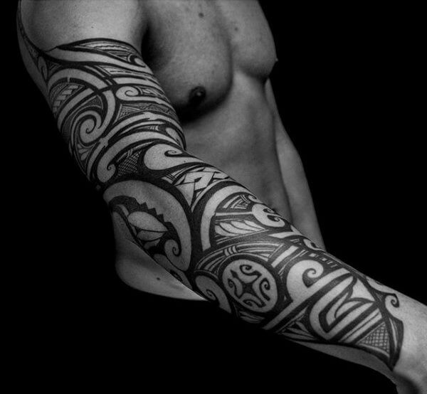 tribal arm tat