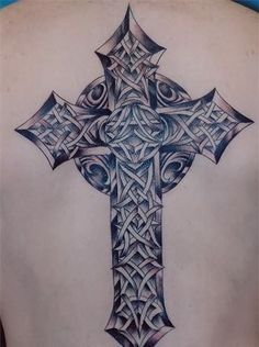 unique cross tattoo designs