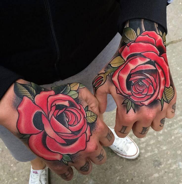 rose-hand-tattoo-hand-tattoos