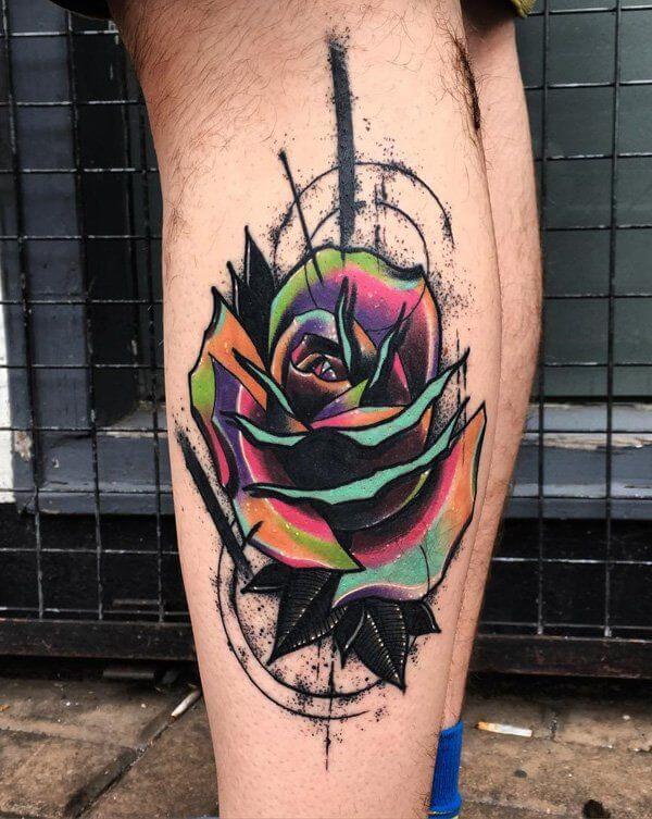 rose tattoo band
