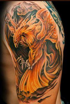phoenix-tattoo-sleeve-phoenix-tattoos 2