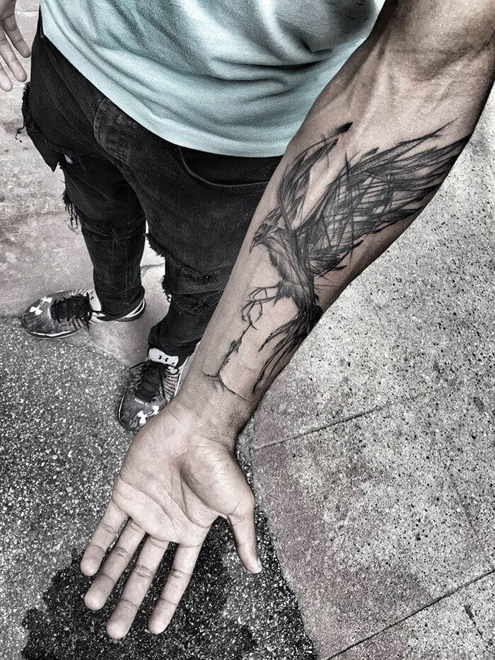 phoenix-chest-tattoo-guy-chest-tattoos-forearm