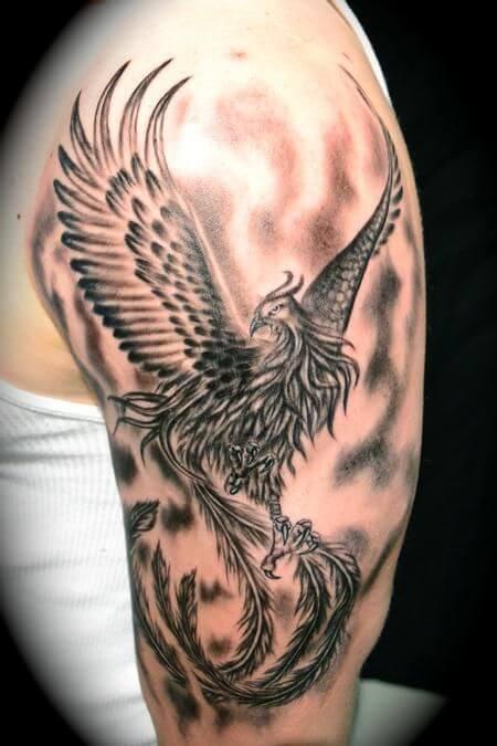 cool phoenix-tattoo-sleeve-phoenix-tattoos