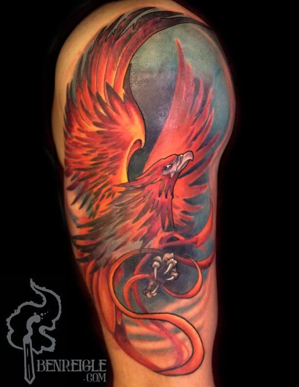 phoenix-tattoo-sleeve-phoenix-tattoos