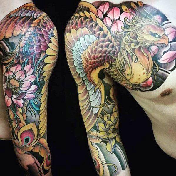 -asian-tattoo-sleeve-phoenix-tattoo-sleeve