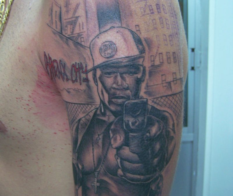 50 Cent No Tattoos