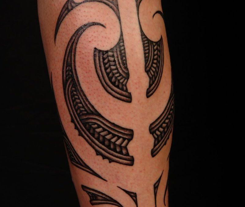 Back Calf Tattoos For Women