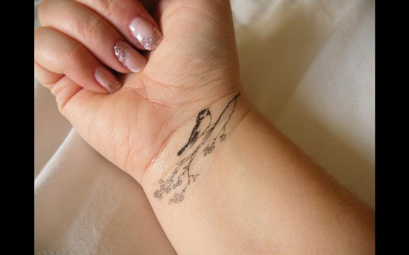 Bird Wrist Tattoo Ideas