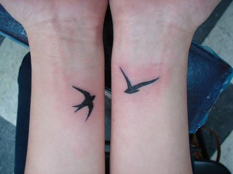 Bird Wrist Tattoo