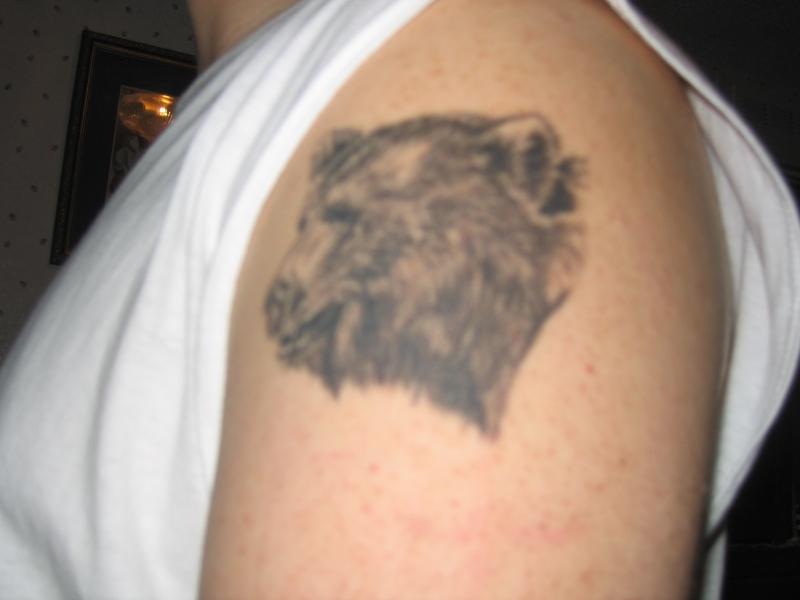 Black Bear Tattoo Designs
