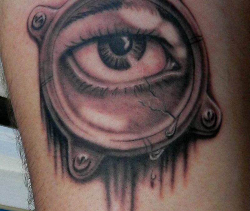 Black Eye Tattoo