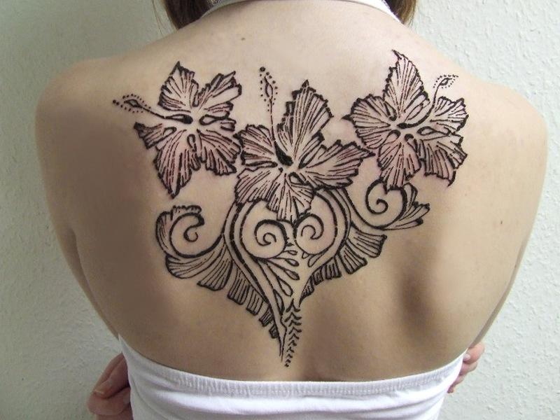 Black Henna Tattoo Designs