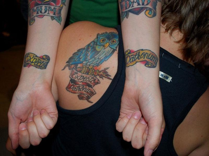 Boyfriend Girlfriend Matching Tattoos Ideas