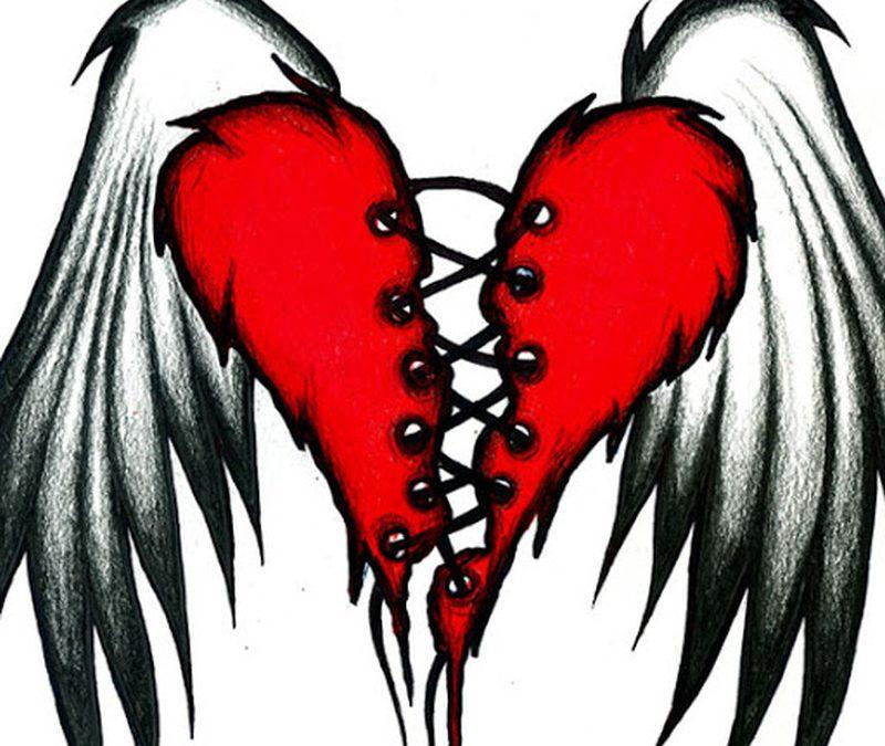 Broken Heart Tattoos Designsr