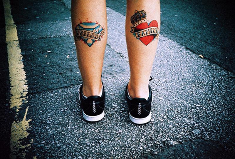 Calf Tattoos For Men Tumblr