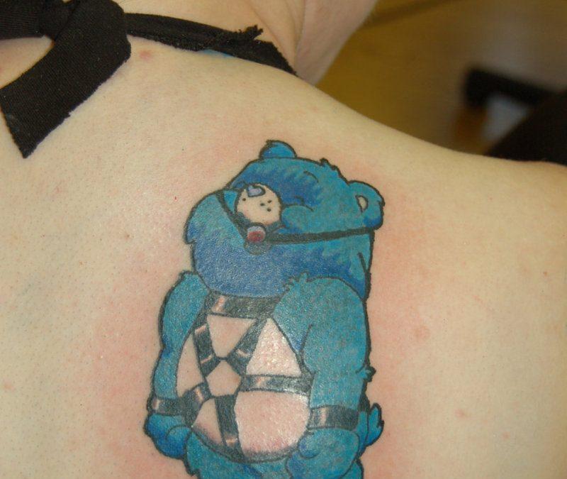 Care Bear Heart Tattoos
