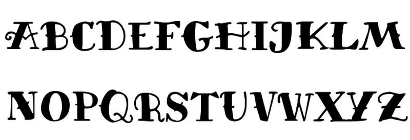 Classic Tattoo Font