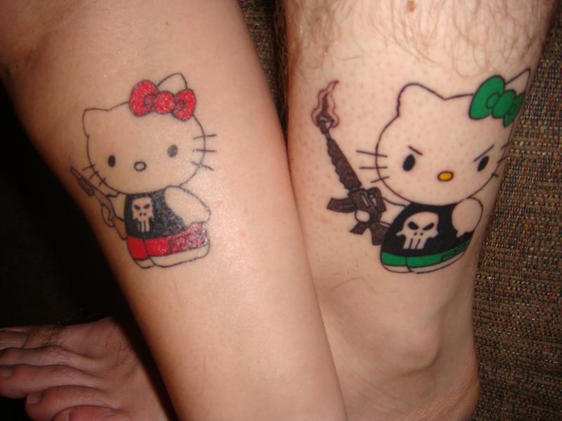 Couple Matching Tattoos