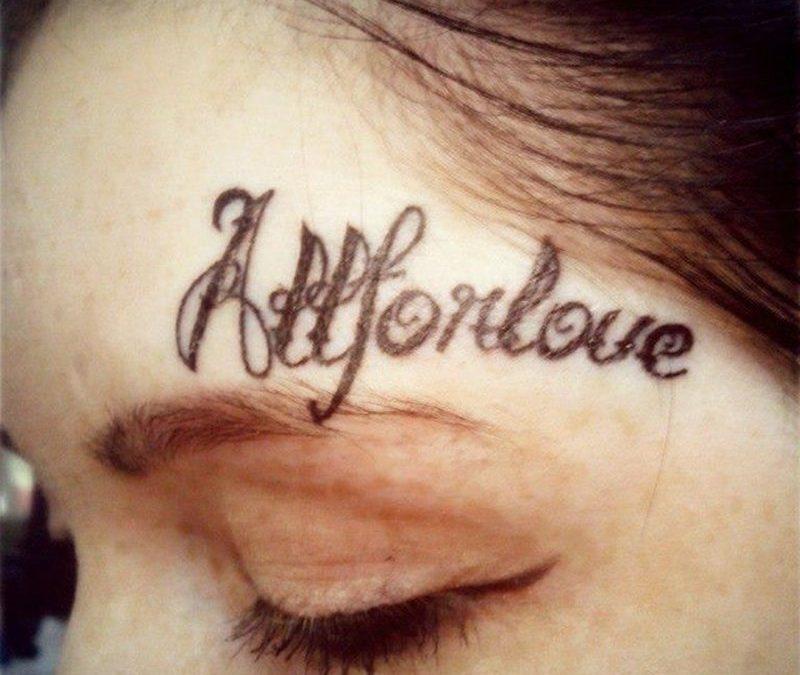 Cute Boyfriend Girlfriend Matching Tattoos