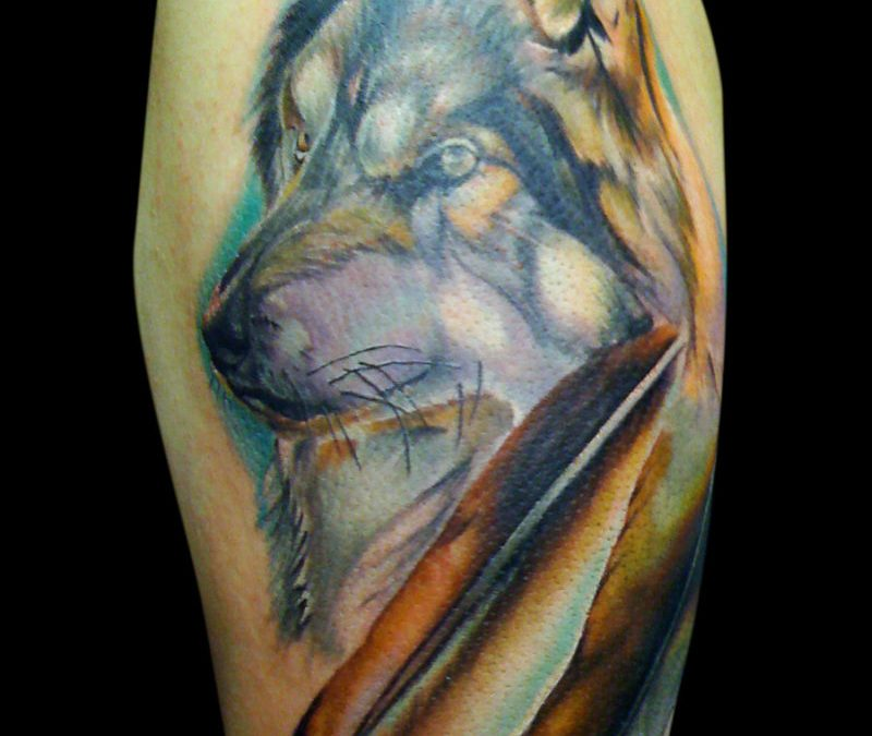 Eagle And Wolf Tattoos