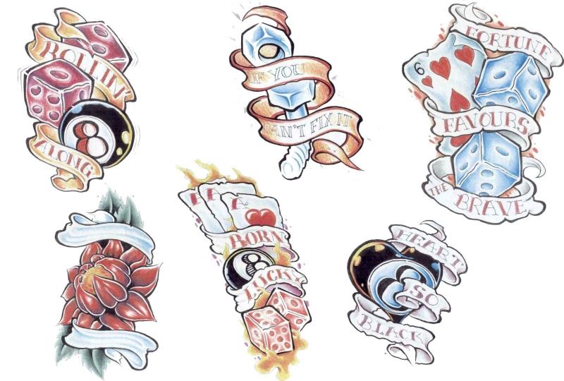 Flash Art Tattoo Designs