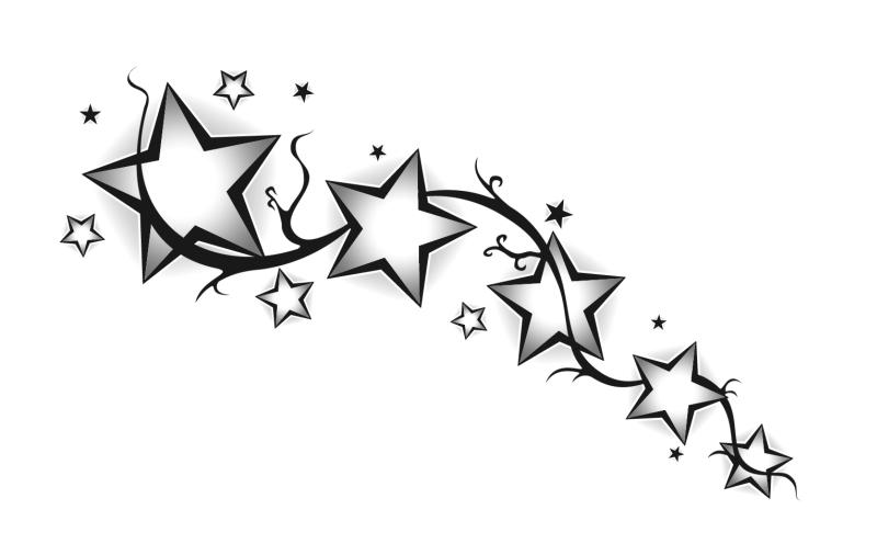 Free Star Tattoos Design