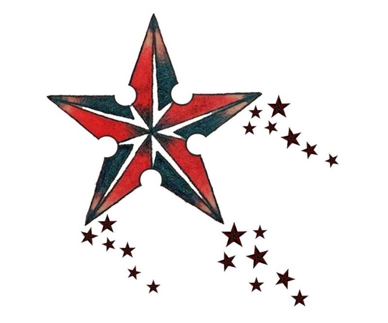 Nautical Star Tattoos Design