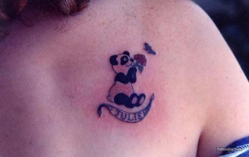 Panda Bear Tattoos Designs