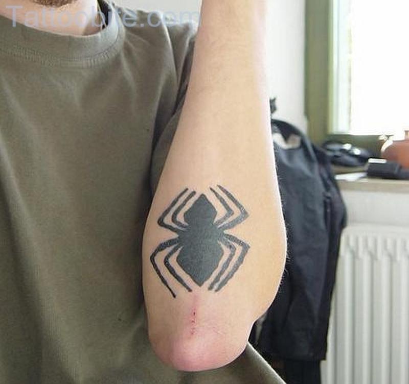 Simple Spider Tattoo