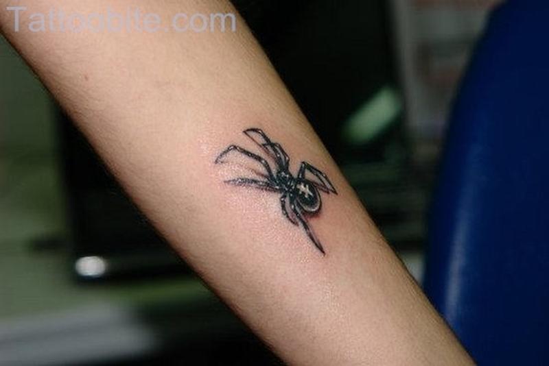 Small Spider Tattoo