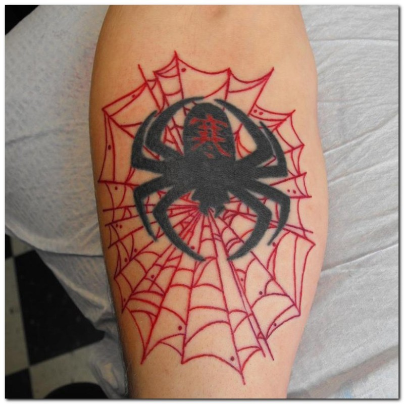 Spider Web Tattoos Design