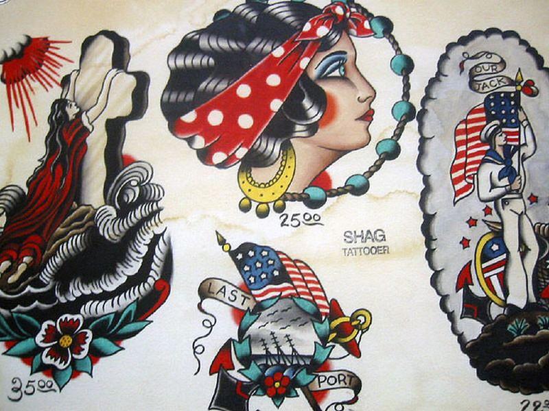Vintage Flash Tattoo Art
