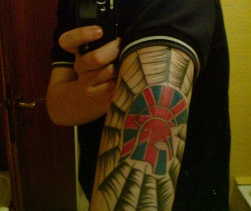 Biceps tattoo graphic 2
