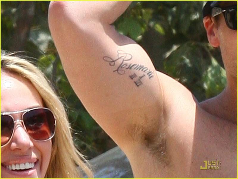 Biceps tattoo
