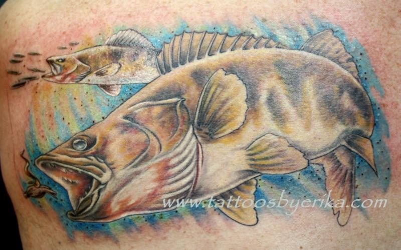 Big fish tattoo design 2
