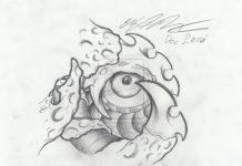 Blacklight eye tattoo - Tattoos Book - 65 000 Tattoos Designs
