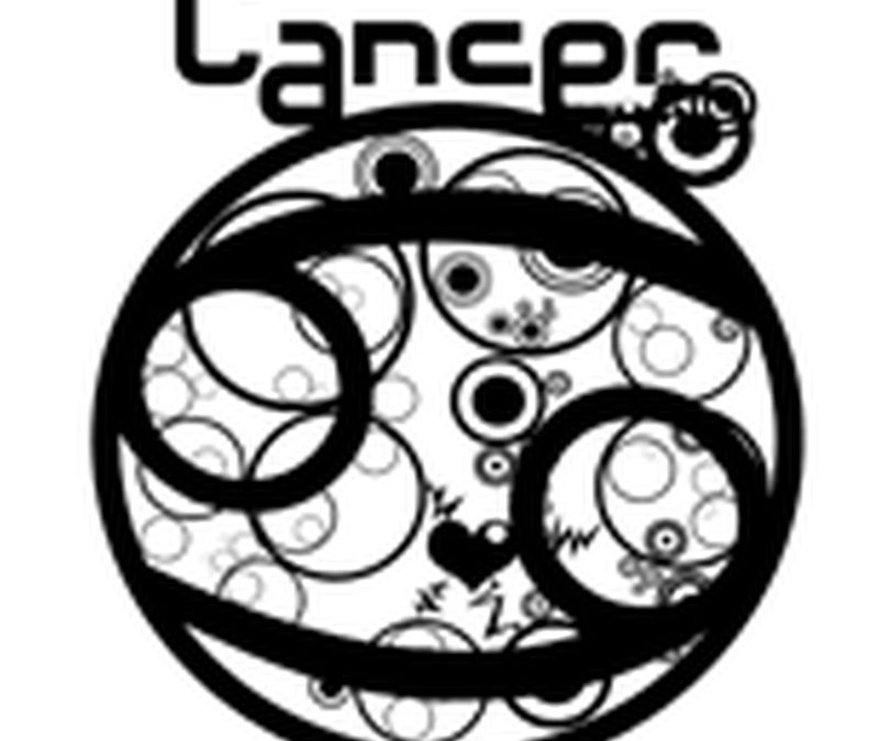 Cancer tattoo design