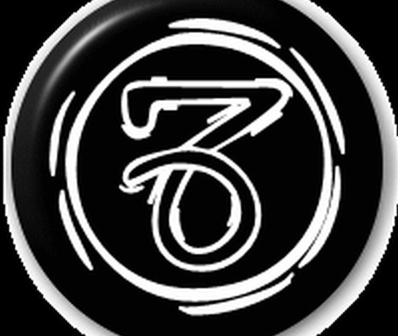 Capricorn round symbol star sign tattoo design