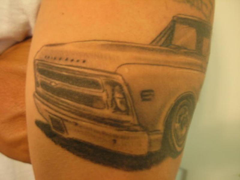 Car front tattoo
