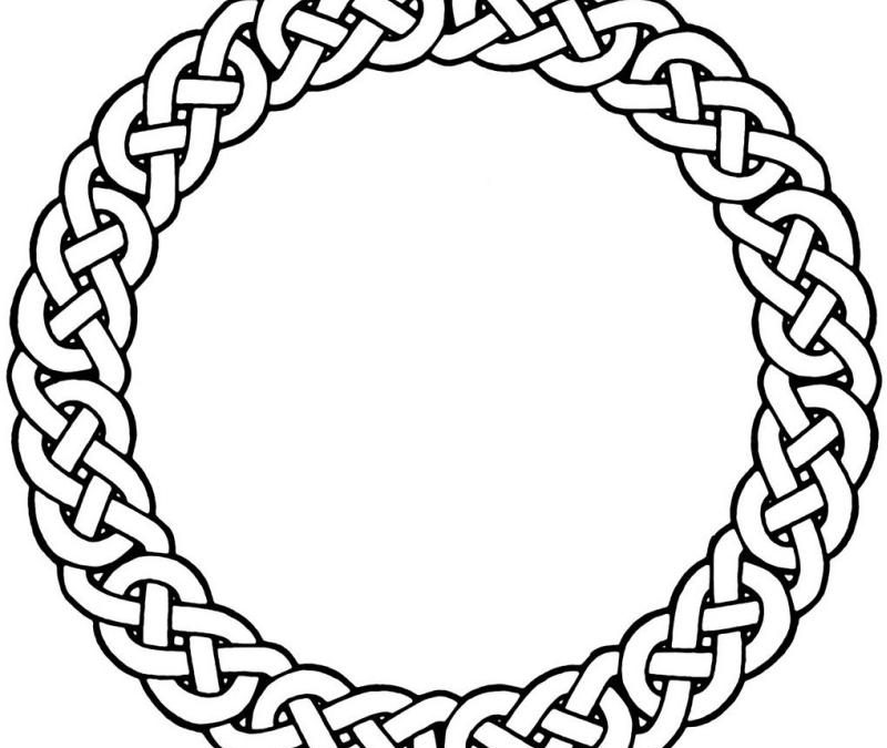 Celtic circle sample tattoo