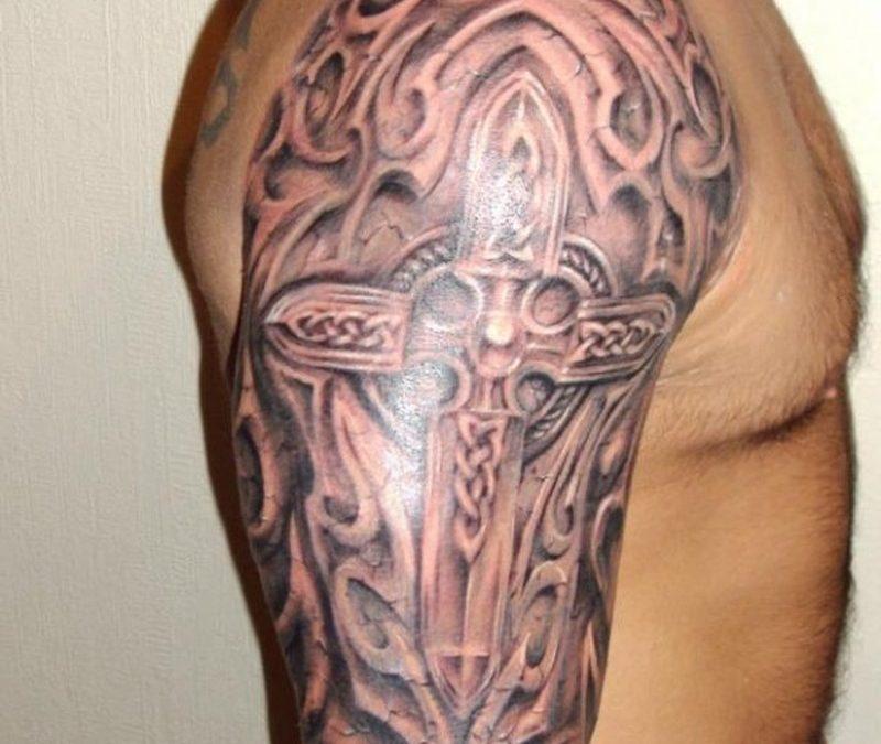 сожалению, кельтская связка на плече с крестом фото тигра амура унаследовал