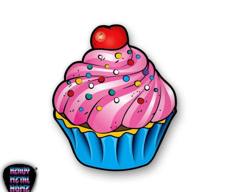 Cherry cake tattoo design