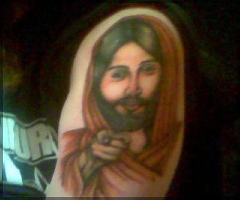 Christ jesus tattoo art